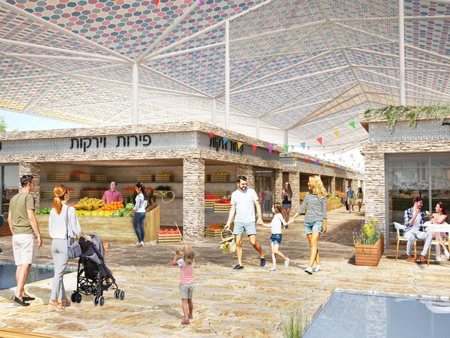 Be'er Sheva market | Elyakim arch | 2019
