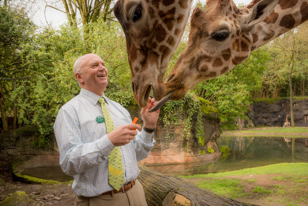 Dr. Don Moore of the Oregon Zoo