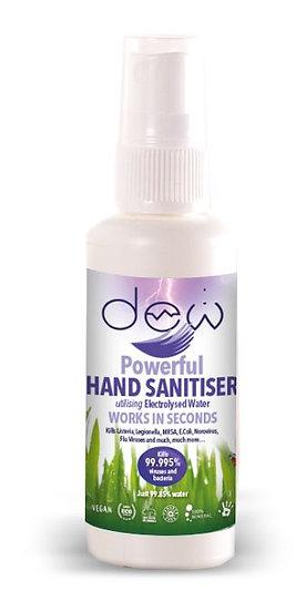 Dew Hand Sanitiser - 65ml x 50