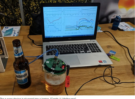 'Electronic nose' sniffs out bad flavors in beer