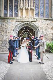 Military Wedding Day