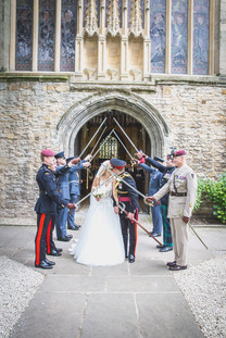 Military Wedding Day