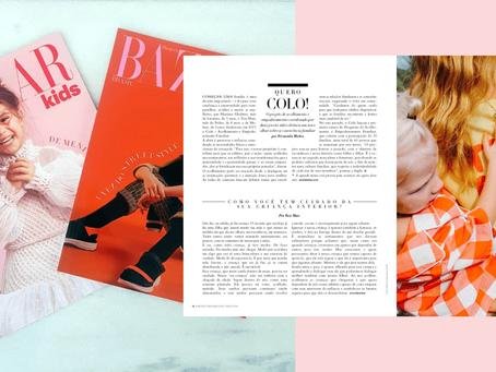 Colo na Revista Bazaar