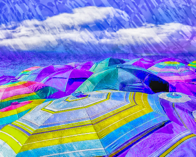 58063A - Beach Umbrellas