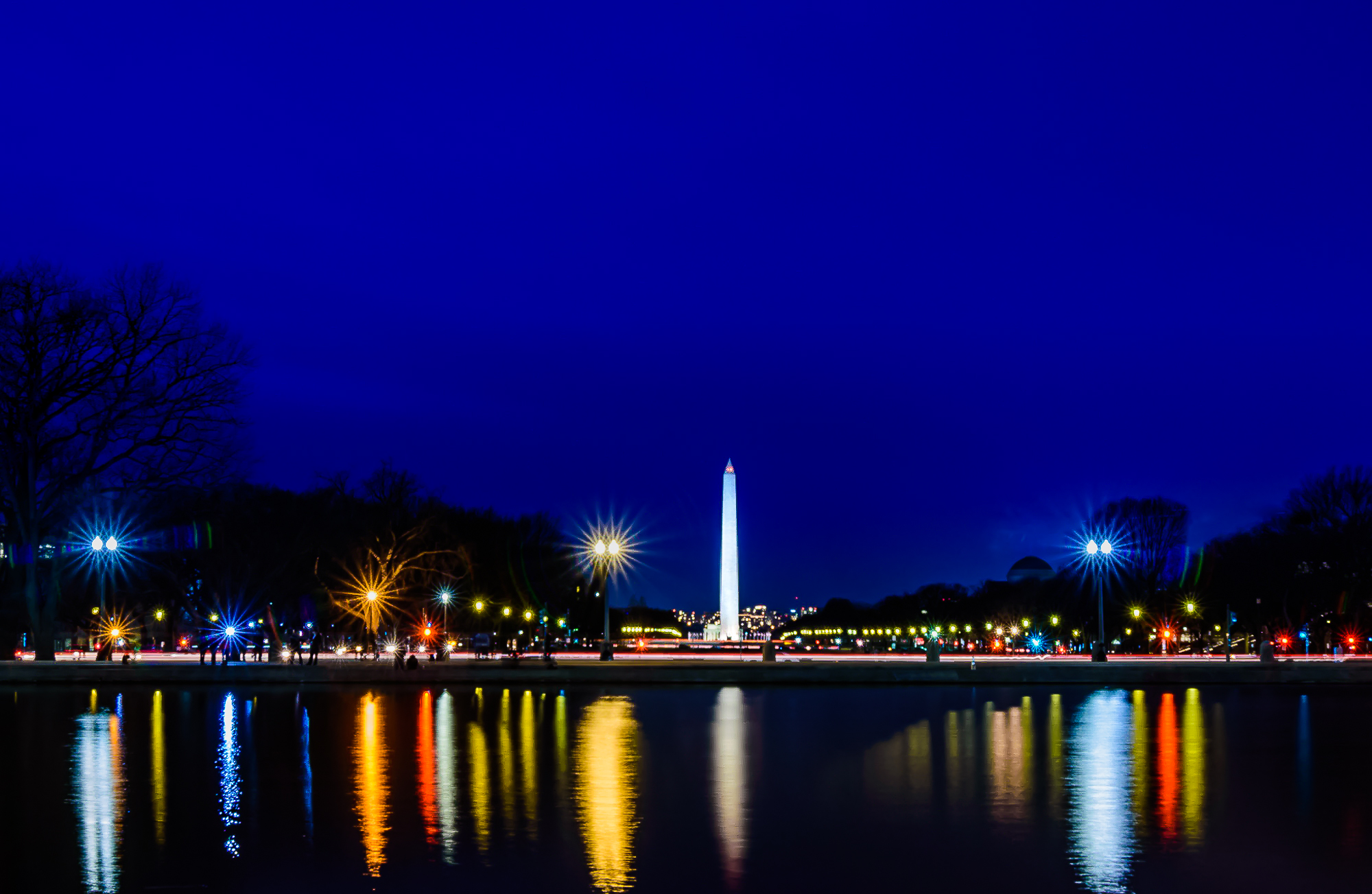 58137F - Washington Monument Reflect