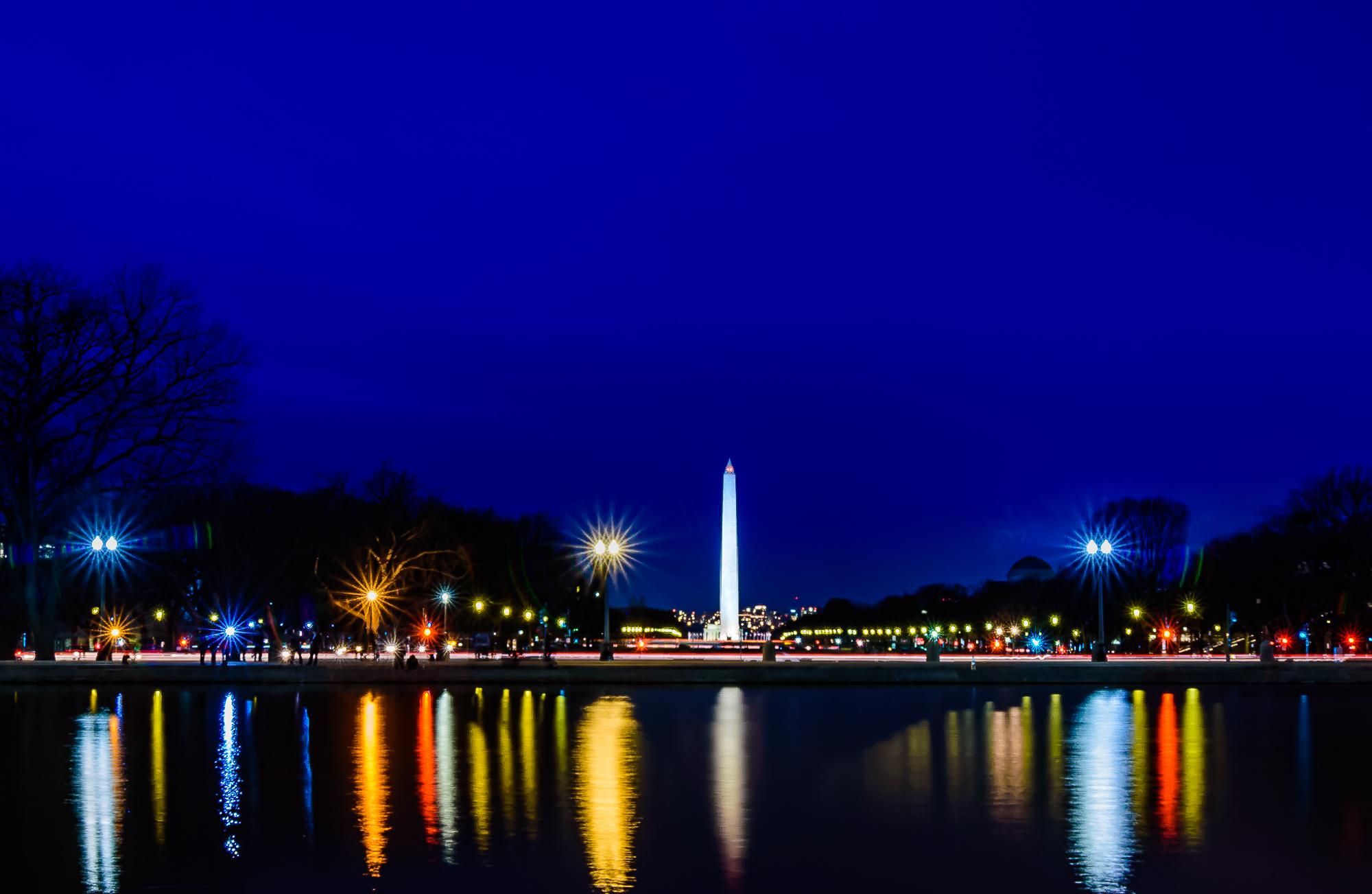 58137F - Washington Monument Reflect