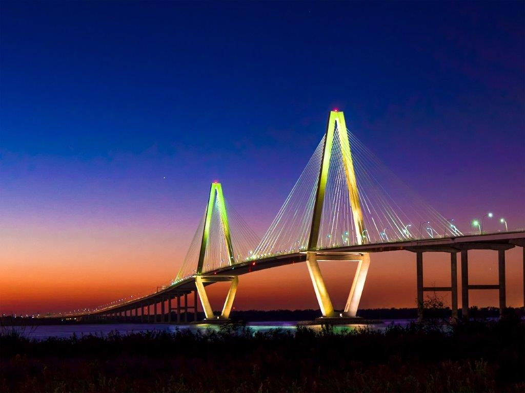 58002F - Arthur Ravenel Jr Bridge