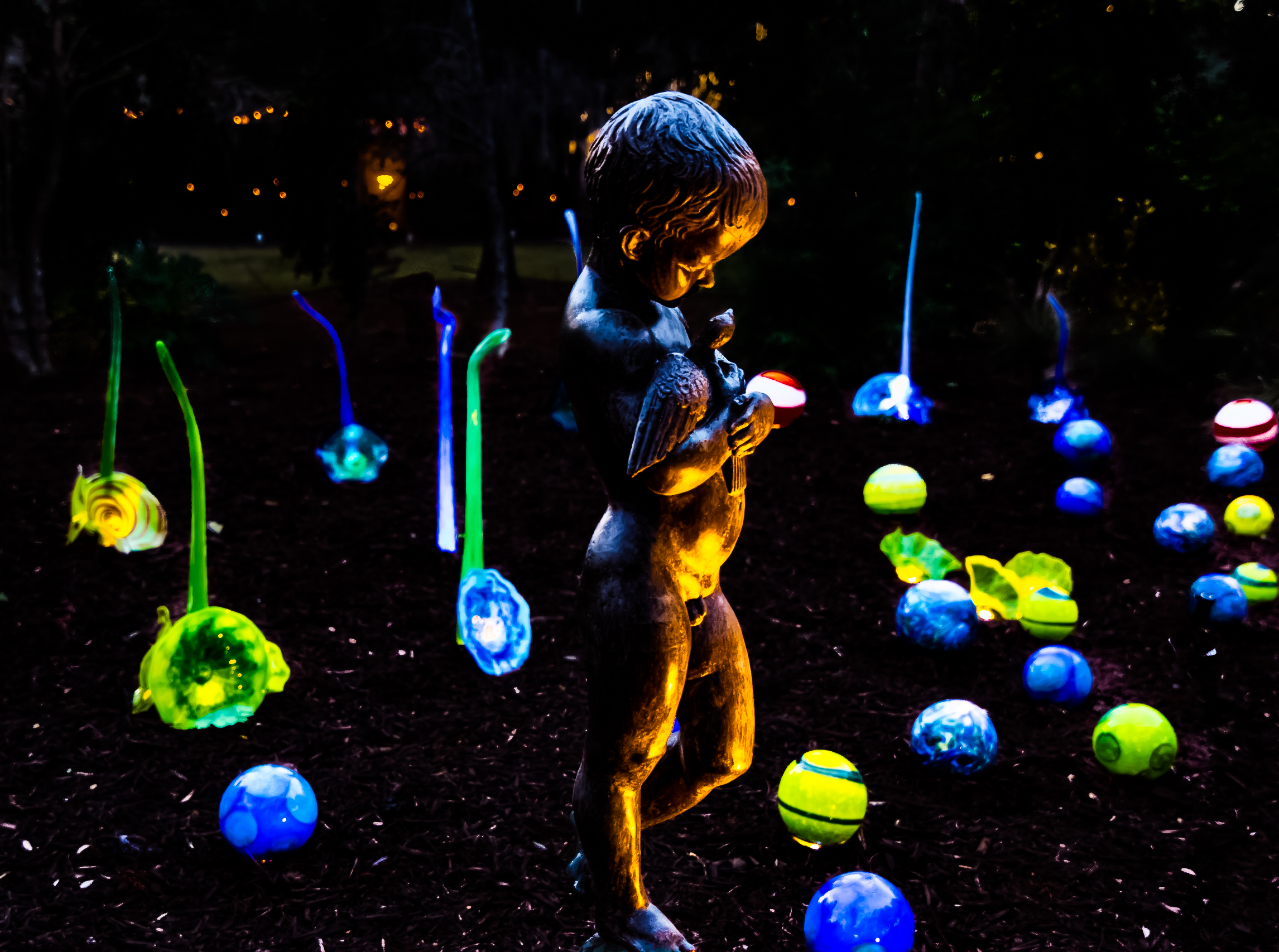 Little Boy - Brookgreen - Night