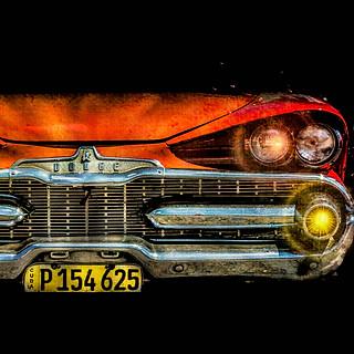 58152A - Cuba Red Car