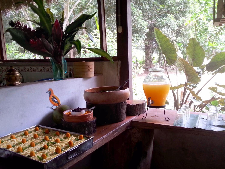 Cooking class at Hacienda Herrera