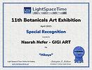 Nasrah Nefer. 11.Botanicals. Award 2021.