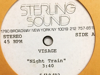 Visage - Night Train 1982