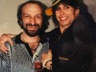 Working with Steven Tyler
