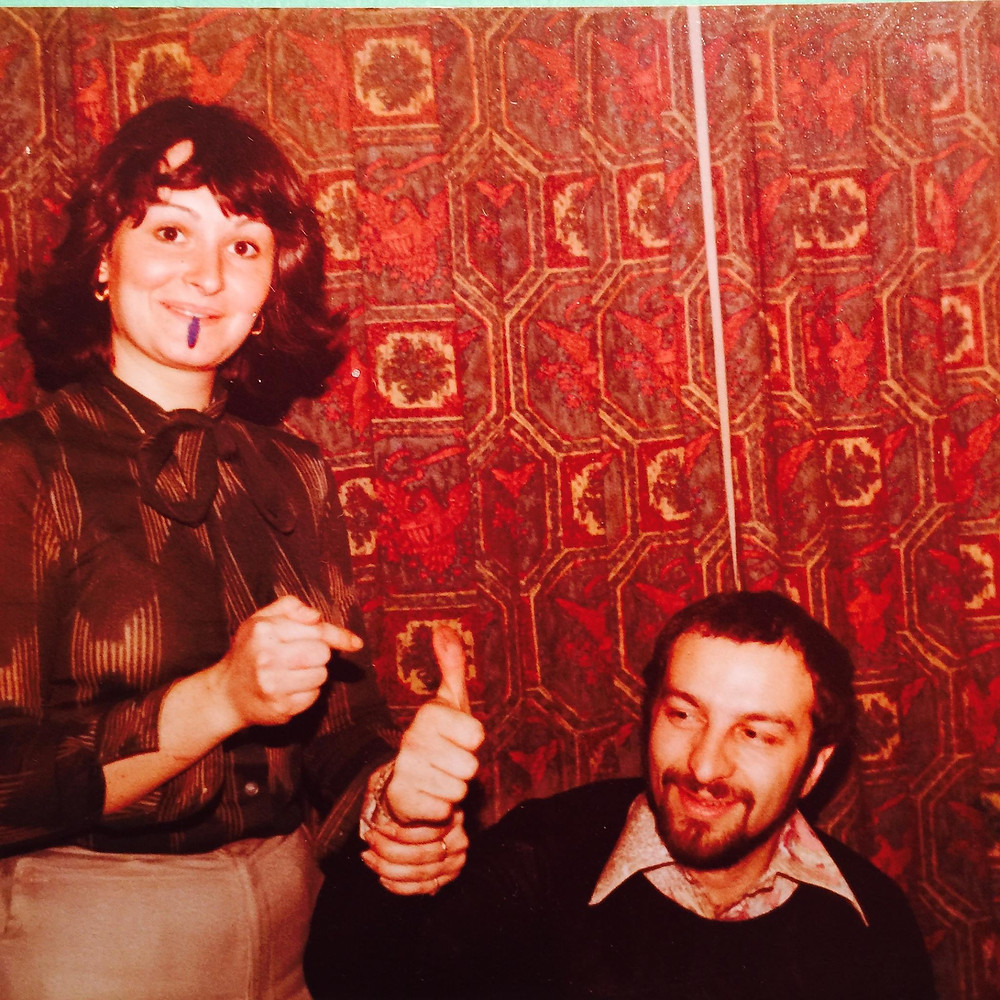 John Luongo and Roxy Myzal at Boston Record Pool