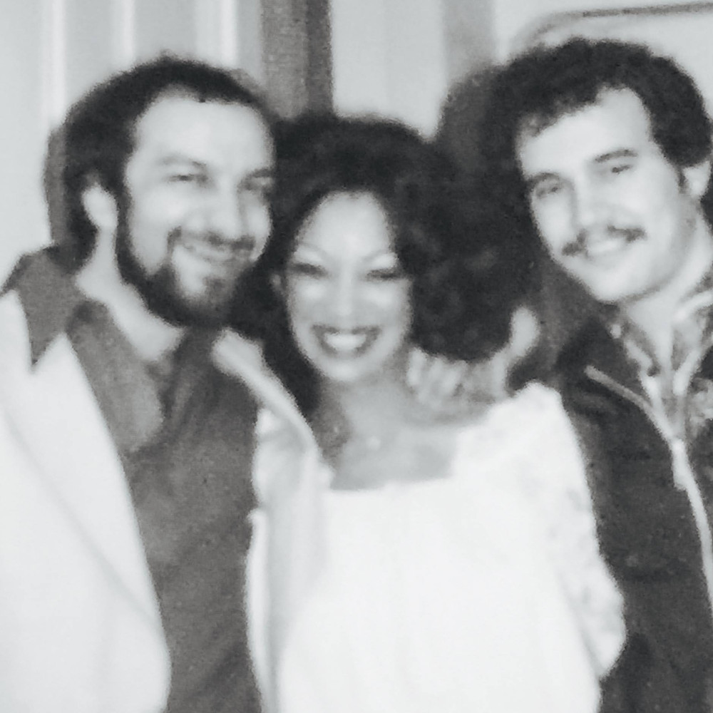 At WBOS John Luongo, Linda Clifford, Vinny Peruzzi