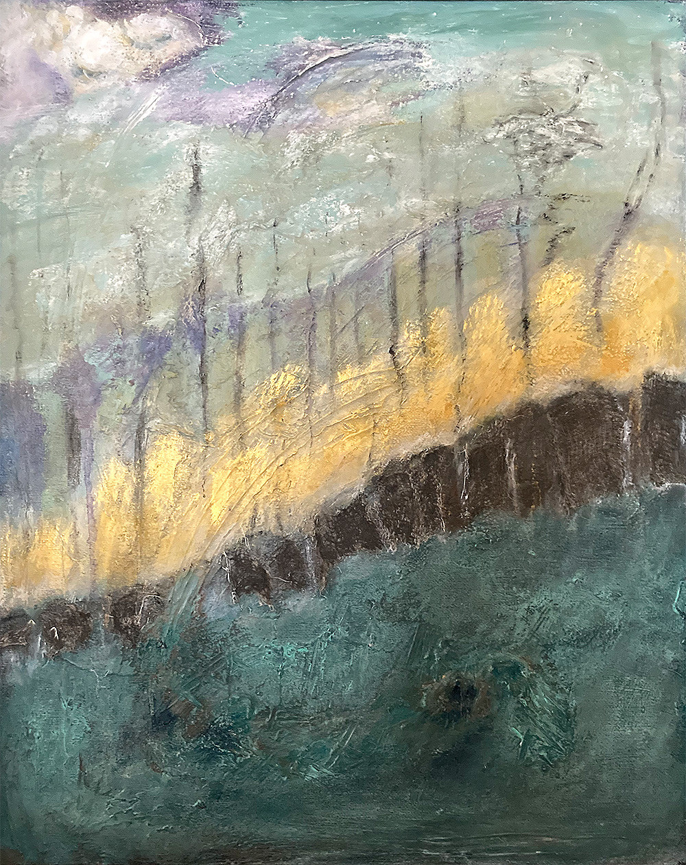 Awakening - a painting by Cynthia Reynolds