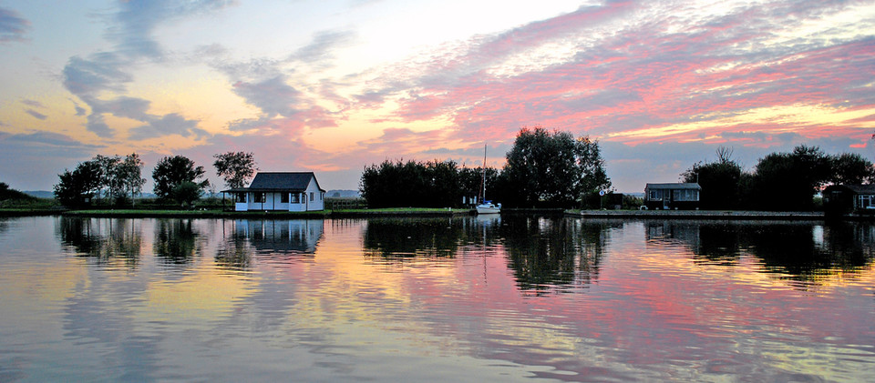 3. Evening Light on the River Thurne
