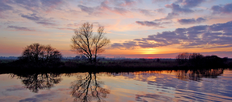 5. Dusk on the River Bure at St Benet's