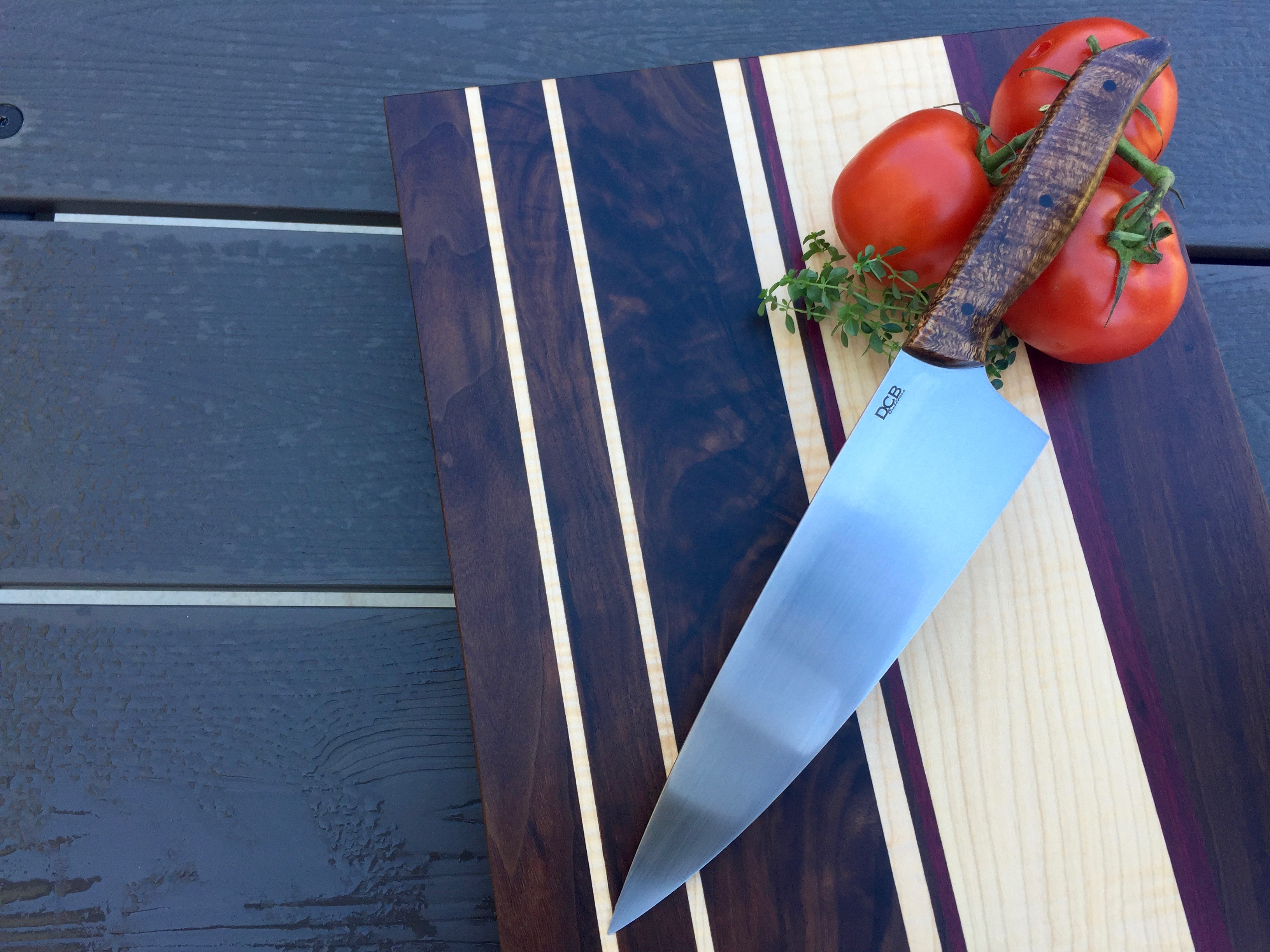 Koa Chef and Figured Board