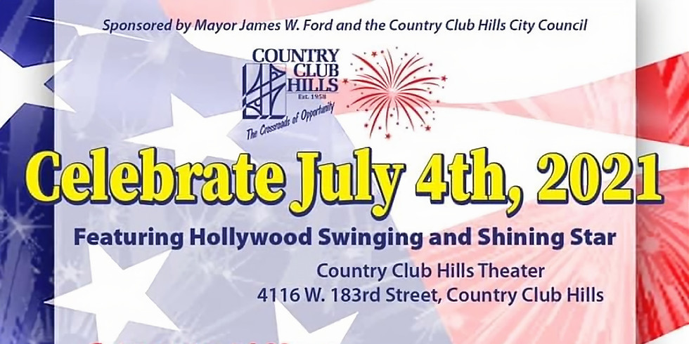 Shining Star's 4th of July Celebration, featuring Hollywood Swinging