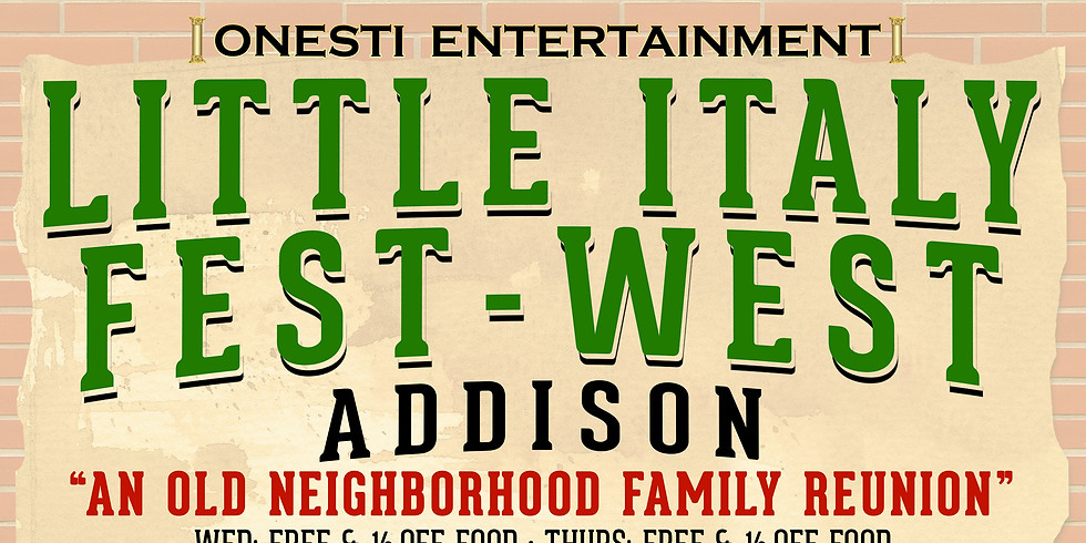 Little Italy Fest- West