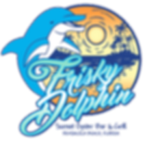 Frisky Dolphin Oyster Bar Grill Pensacola Beach Seafood Live Music Waterfront Dining Sunset