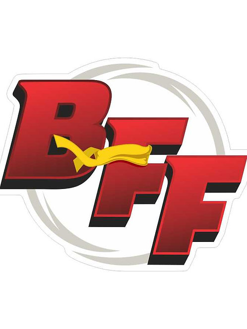 BFF Logo Window Decal