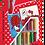 Thumbnail: Disney Hello Kitty Sand painting Set DS-20 Sandmalkarten, 2in1 Se
