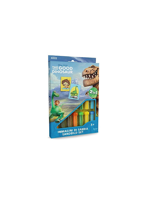 Disney Dino Sand painting Set DS-25 Sandmalkarten, 2in1 Set