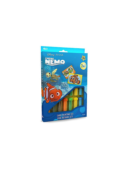 Disney Nemo Sand painting Set DS-10 Sandmalkarten, 2in1 Set