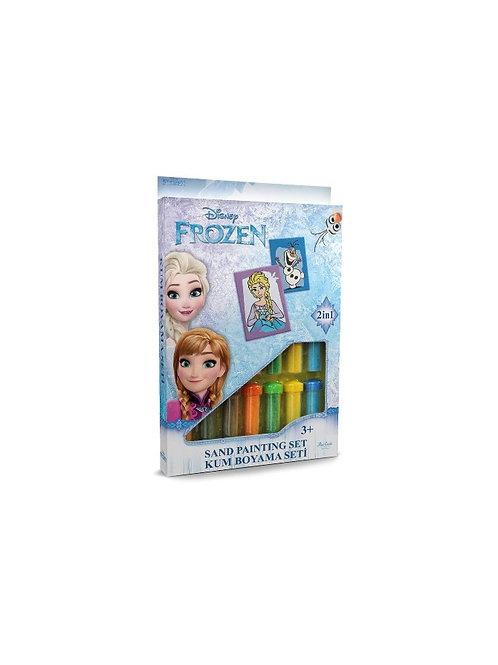 Disney Frozen Sand painting Set DS-16 Sandmalkarten, Elsa und Olaf. 2in1 Set
