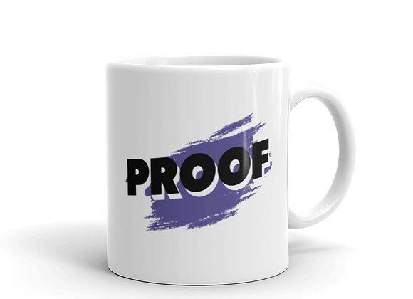 PROOF White Glossy Mug