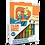 Thumbnail: Disney Despicableme Sand painting Set DS-26 Sandmalkarten, 2in1 Set