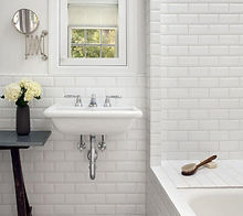 Recaulking of Tiles & Fixtures by Newlight Tile Restoration & Remodels