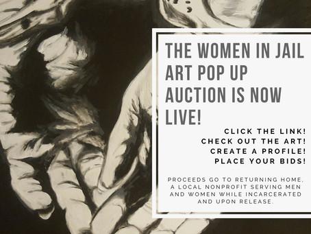 """Women In Jail"" Pop-Up Art Show"