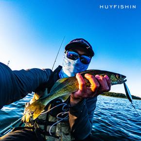 Walleye fishing on jerkbaits