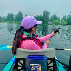 Bass Fishing Glen Lake