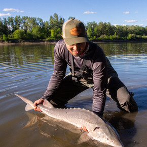 Huy's First Ever Sturgeon