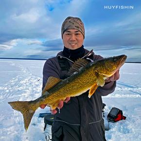 Coldwater Walleye fishing