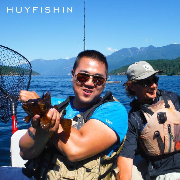 Sunshine Coast Ocean Kayak Fishing