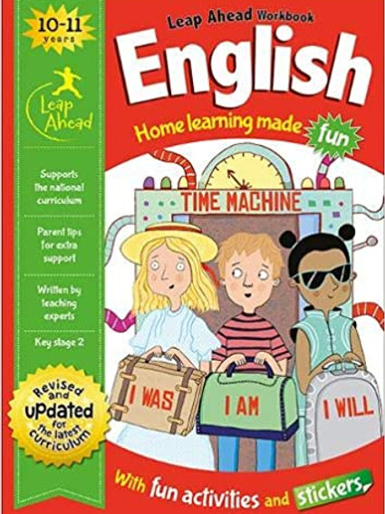 English Leap Ahead Workbook Ages 10-11