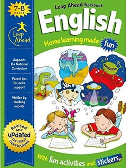 English Leap Ahead Workbook Ages 7-8