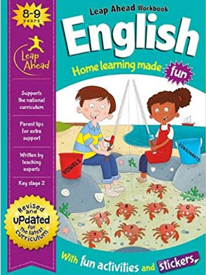 English Leap Ahead Workbook Ages 8-9