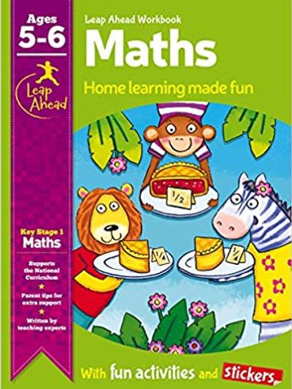 Maths Leap Ahead Workbook Ages 5-6