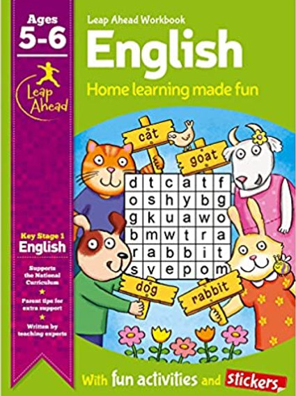 English Leap Ahead Workbook Ages 5-6