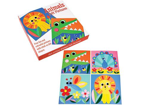 Animal Felt Picture Kit