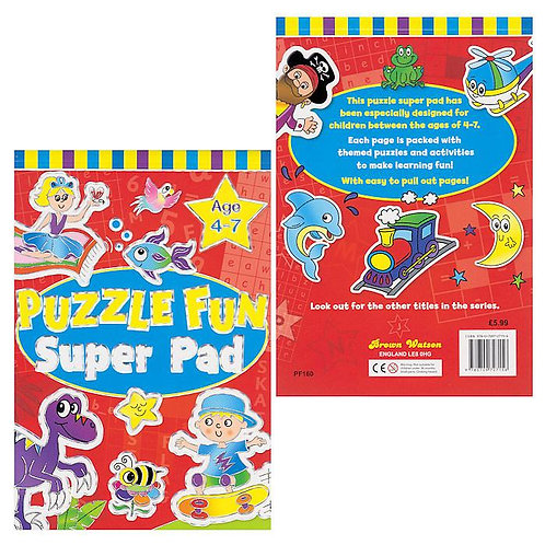 Puzzle Fun Super Pad (Age 4-7)