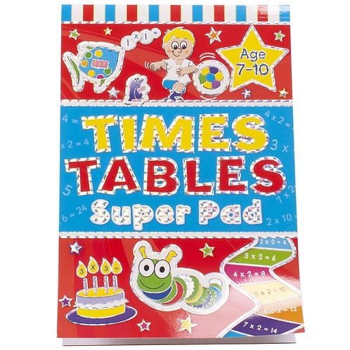 Times Tables Super Pad (Age 7-10)