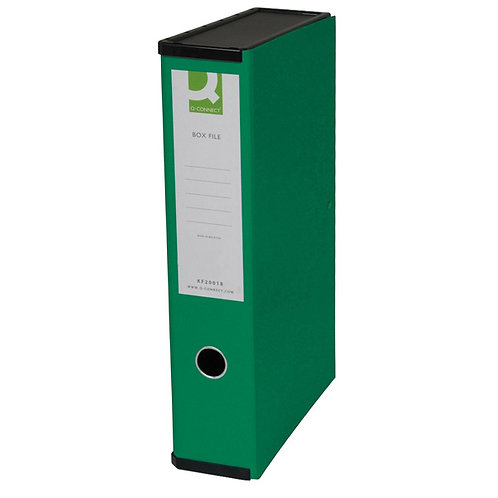 Q-Connect Box File - Green