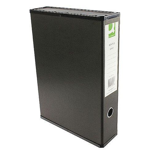 Q-Connect Box File - Black